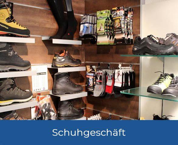 Grosses Schuhsortiment bei Wiedmer in Oey
