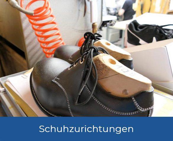 Schuhanpassungen